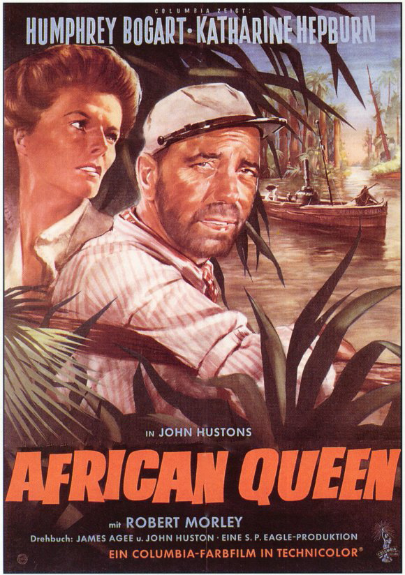 The African Queen - Movie Poster