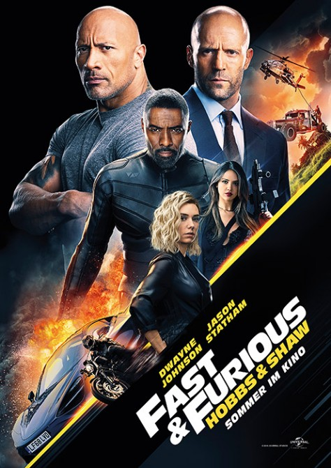 Fast & Furious Presents: Hobbs & Shaw - USA 2019